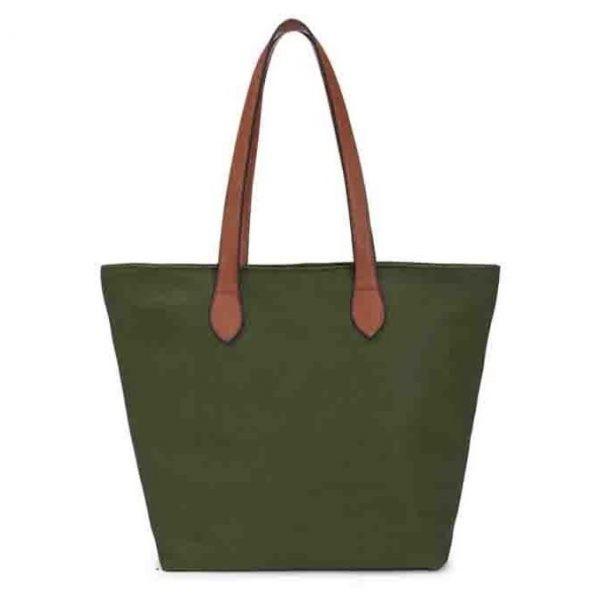 Small Green Shopper Bag (LS807)