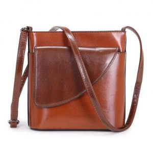 Small Brown Crossbody Bag (LS1010) | Handbags