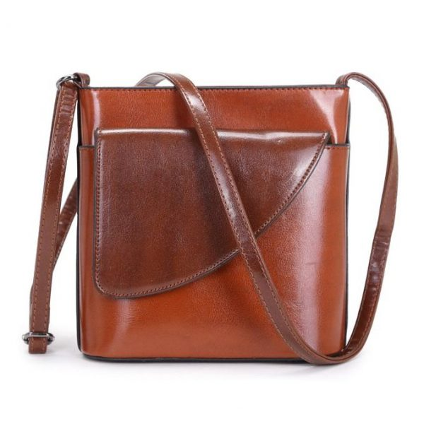 Small Brown Crossbody Bag (LS1010)