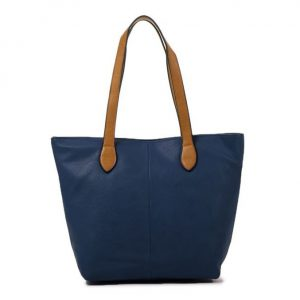Small Navy Shopper Bag (LS837)