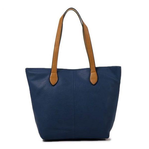 Small Navy Shopper Bag (LS837)