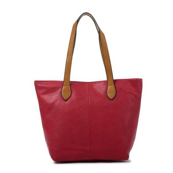 Small Red Shopper Bag (LS612)