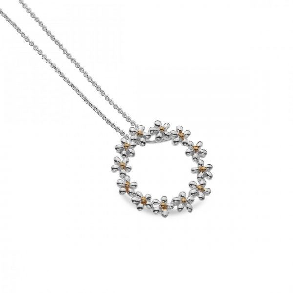Sterling Silver Daisy Pendant (SM01)