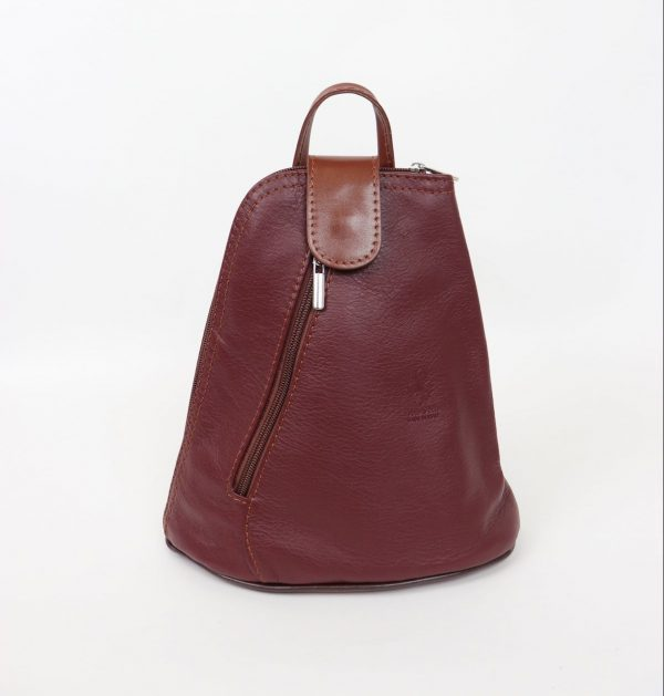 Italian Leather Berry Backpack – Small (BAG74)