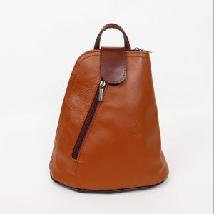 Italian Leather Tan/Brown Backpack - Small (BAG6) | Italian Leather Bags