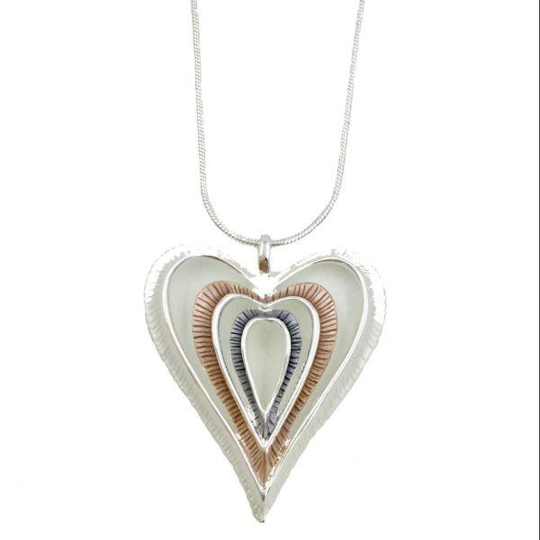 Statement Heart Pendant (G585)