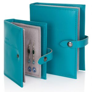 Little Book of Earrings - Teal | Earring Books | Gifts | Craft Works gallery of Corbridge