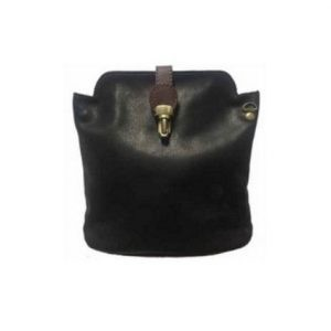 Italian Leather Crossbody Bag - Black (BAG8) | Italian Leather Bags