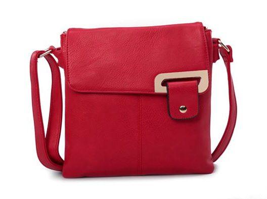 Red Shoulder/Crossbody Bag (LS739)
