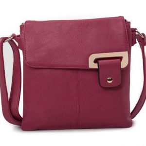 Red Wine Shoulder/Crossbody Bag (LS936)