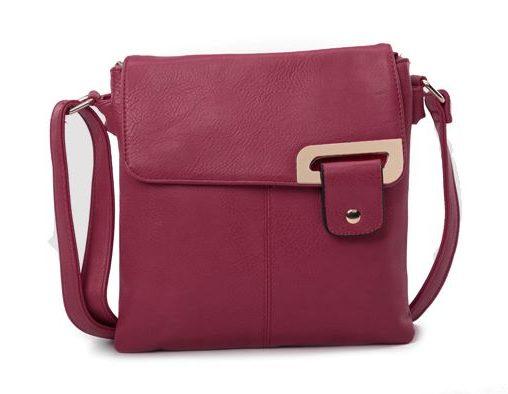 Red Wine Shoulder/Crossbody Bag (LS936)