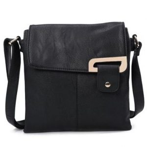 Black Shoulder/Crossbody Bag (LS467)