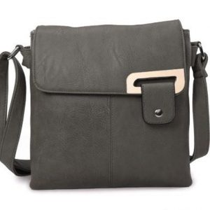 Dark Grey Shoulder/Crossbody Bag (LS948)