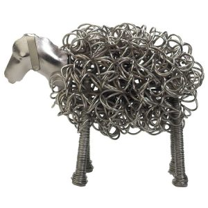 Silver Wiggle Sheep | Homeware Gifts | Handmade Gifts