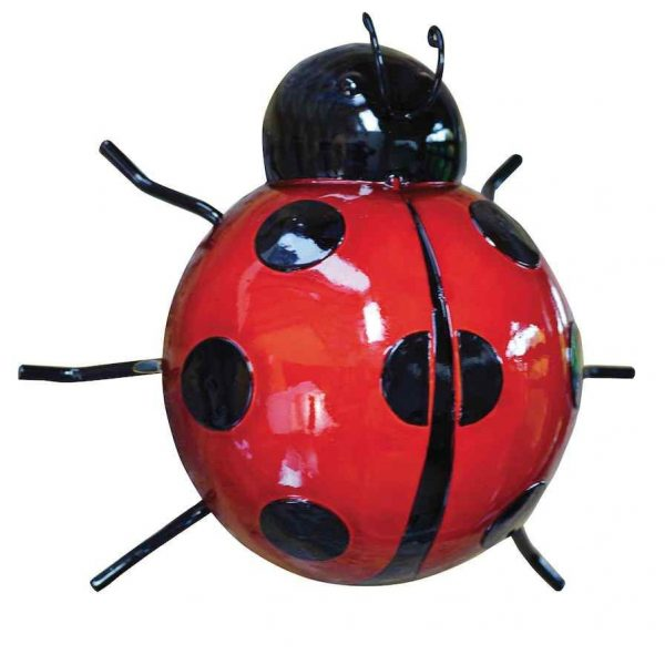 Large Metal Ladybird