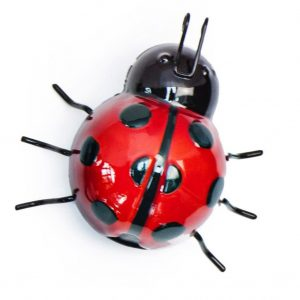 Metal Ladybirds and Bees