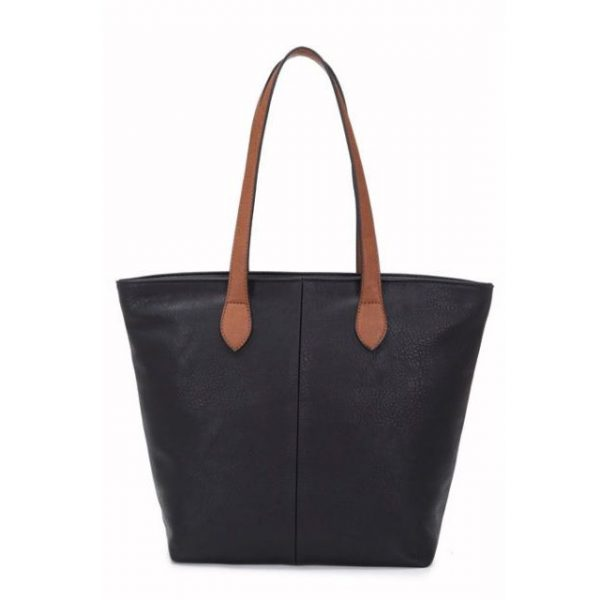 Small Black Shopper Bag (LS536)