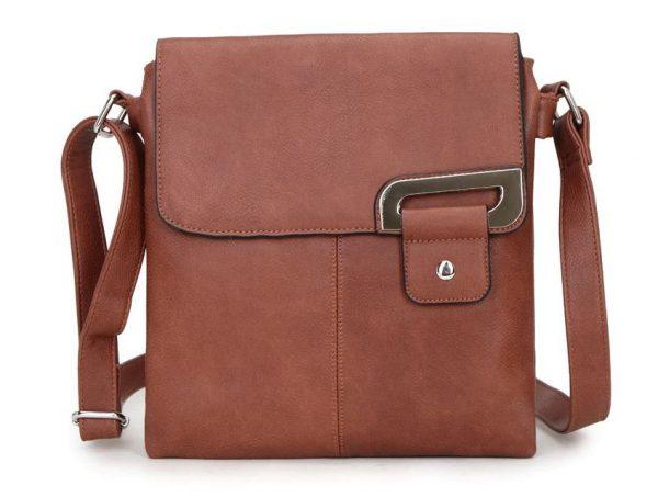 Brown Shoulder/Crossbody Bag (LS466)