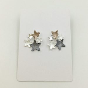 Star Stud Earrings | Silver Jewellery
