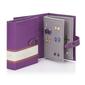 Little Book of Earrings - Purple Small