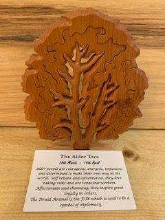 Alder Birthday Tree Large 18th March-14th April | Homeware Gifts | Handmade Gifts