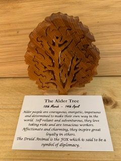 Alder Birthday Tree Small 18th March-14th April