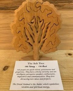 Birthday Trees | Ash Birthday Tree Large 18th February-17th March | Homeware Gifts | Handmade Gifts