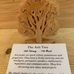 Ash Birthday Tree Small 18th February-17th March | Homeware Gifts | Handmade Gifts