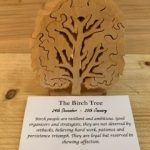 Birch Birthday Tree Small 24th December - 20th January | Homeware Gifts | Handmade Gifts