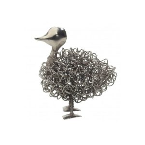 Silver Wiggle Duck | Unusual Gift Ideas | Homeware Gifts | Handmade Gifts