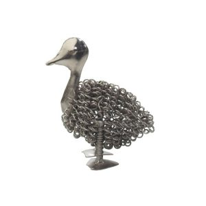 Silver Wiggle Duckling | Homeware Gifts | Handmade Gifts