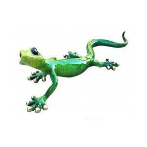 Green Speckled Ceramic Gecko | Homeware Gifts | Handmade Gifts