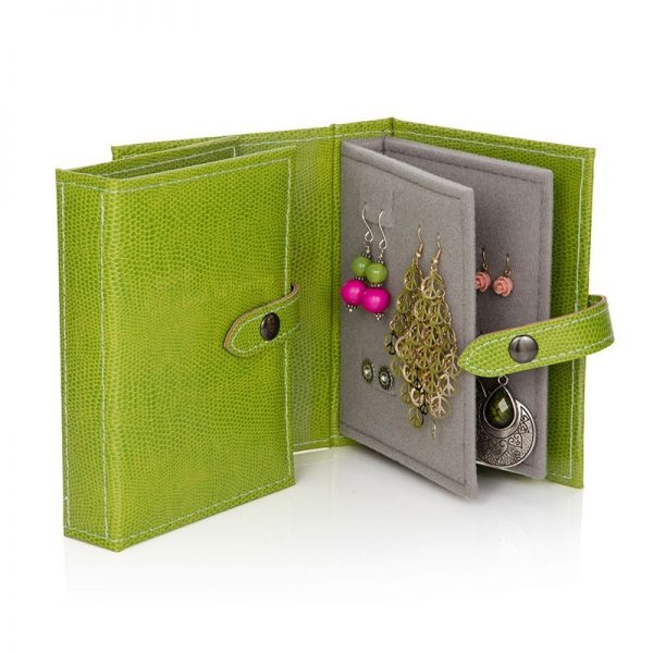Little Book of Earrings - Lime Green
