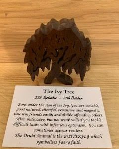 Ivy Birthday Tree 30th September - 27th October | Homeware Gifts | Handmade Gifts