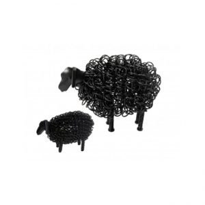 Black Wiggle Lamb | Homeware Gifts | Handmade Gifts
