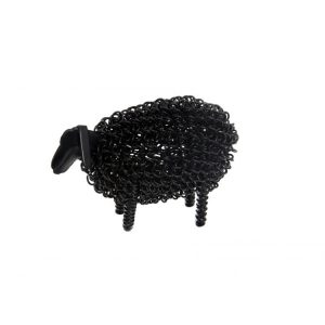 Black Wiggle Lamb | Unusual Gifts | Homeware Gifts | Handmade Gifts