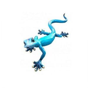 Blue Speckled Ceramic Gecko | Homeware Gifts | Handmade Gifts