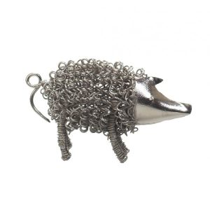 Silver Wiggle Piglet | Unusual Gift Ideas | Homeware Gifts | Handmade Gifts