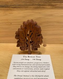 Rowan Birthday Tree 21st January - 17th February
