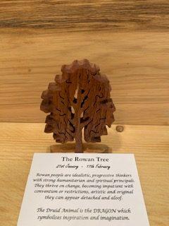 Rowan Birthday Tree 21st January - 17th February