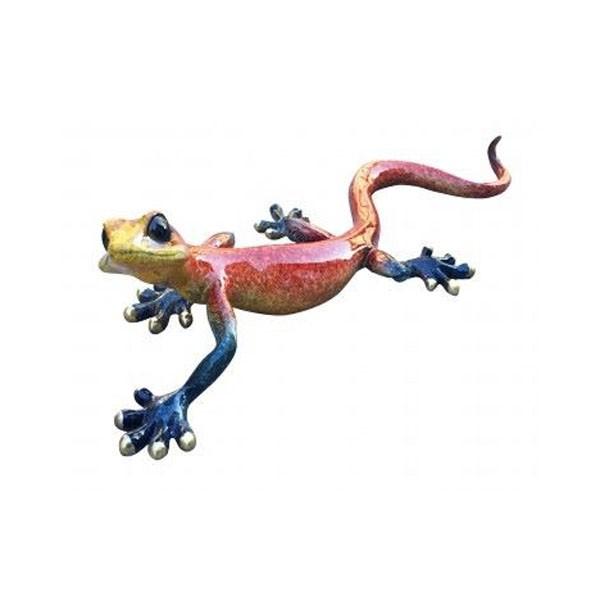 Red Speckled Ceramic Gecko
