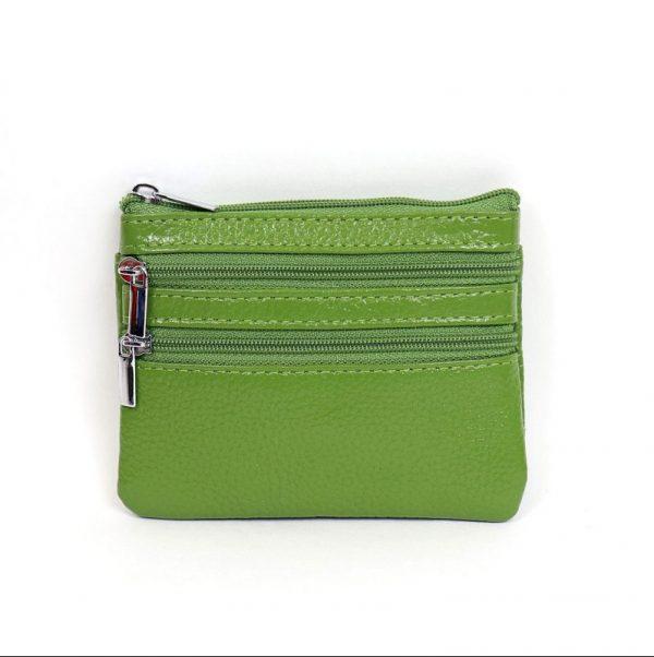 Italian Leather Purse (BAG59) - Green