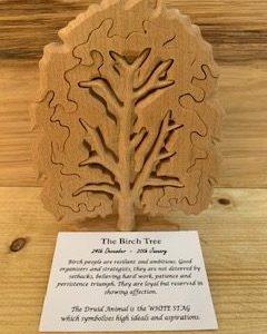 Birch Birthday Tree Large 24th December - 20th January | Homeware Gifts | Handmade Gifts
