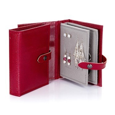 Little Book of Earrings - Red Small