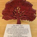 Elder Birthday Tree Large 25th November-23rd December | Homeware Gifts | Handmade Gifts