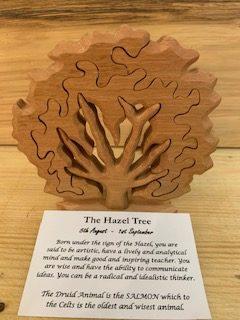 Hazel Birthday Tree Large 5th August - 1st September | Homeware Gifts | Handmade Gifts