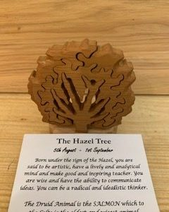 Hazel Birthday Tree 5th August - 1st September | Homeware Gifts | Handmade Gifts