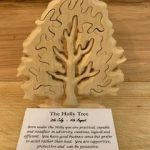 Holly Birthday Tree Large 8th July - 4th August | Homeware Gifts | Handmade Gifts