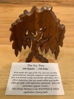 Ivy Birthday Tree 30th September - 27th October | Homeware Gifts | Handmade Gifts
