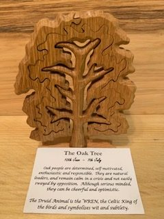 Oak Birthday Tree Large 10th June - 7th July | Homeware Gifts | Handmade Gifts